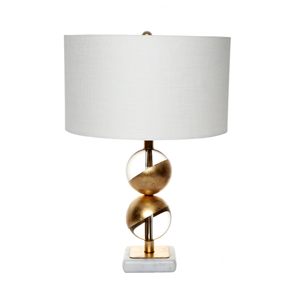 Goa Gold/Glass Table Lamp