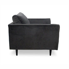 Brooklyn Lounge Chair Velvet coco