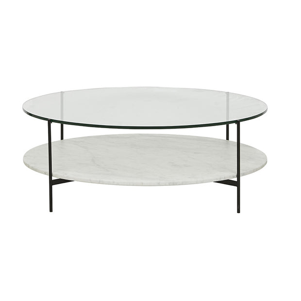 Clermont Layer Coffee Table Black