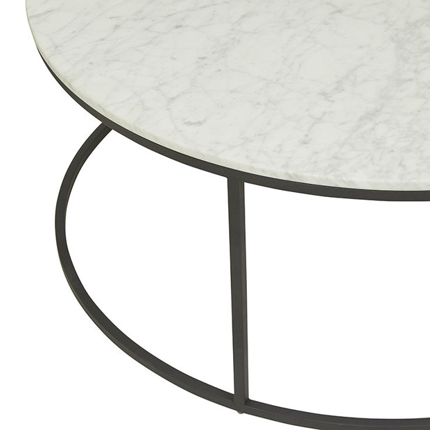 Elle Round Marble Coffee Table