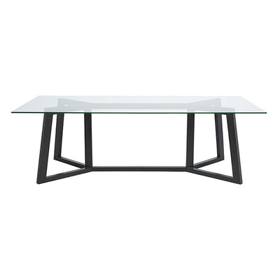 Geo Glass Dining Table