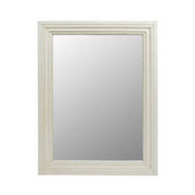 Malval Mirror Antique White