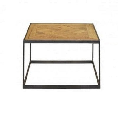 Parquetry Side Table - Natural Oak