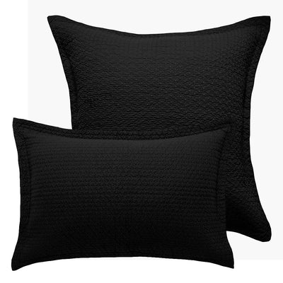 Ashton Black Pillowcases