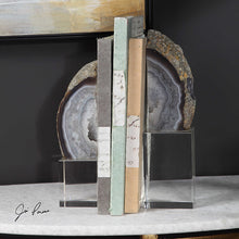 Marble Bookends s/2