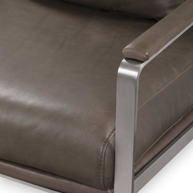 Corinth Leather Accent Chair