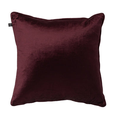Velvet Romano Plum Cushion