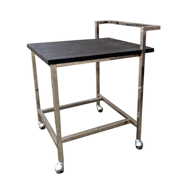 Black Chrome Drinks Trolley