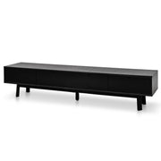 220cm Black Ash TV Unit