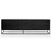 Black Oak TV Unit