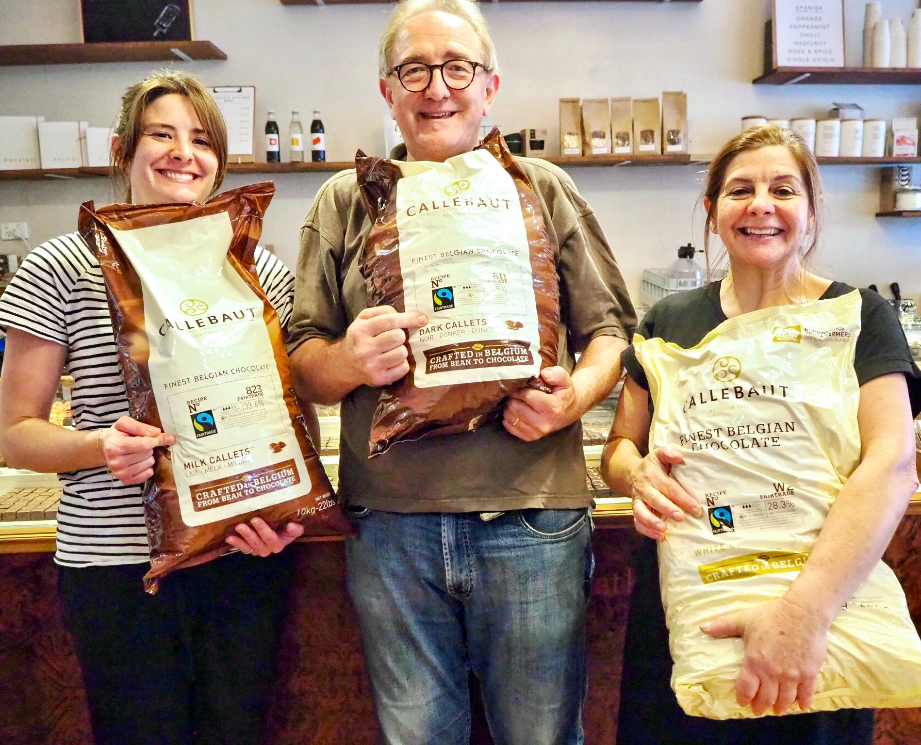 Helping to support an environmentally responsible and socially just world through chocolate and coffee