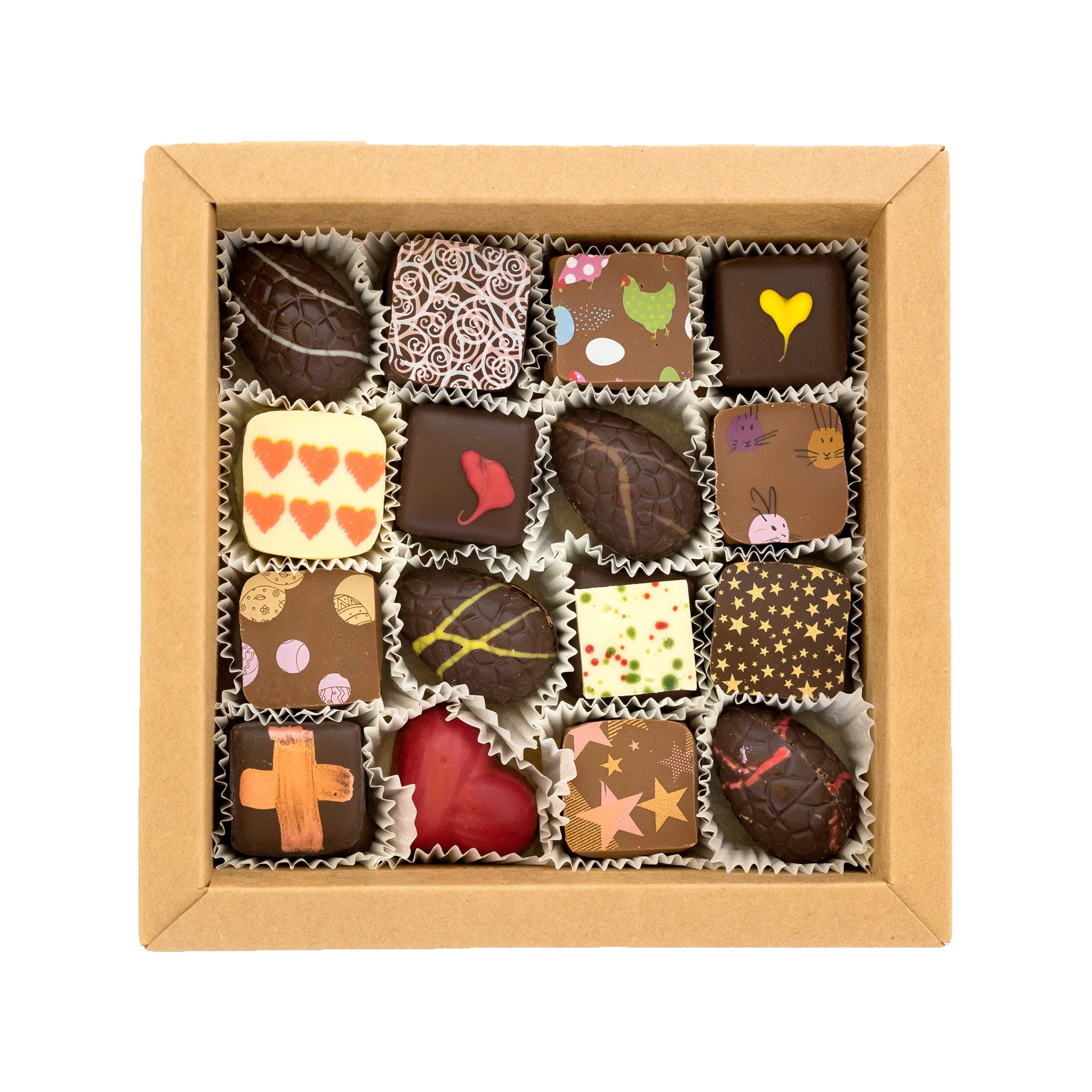 EASTER Chocolate Box - 16 Piece