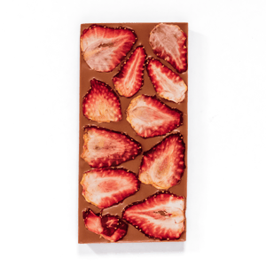 Strawberry Block, Milk