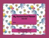 Unicorn Print Homeschool Planner