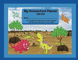 Dinosaur Fun Homeschool Planner