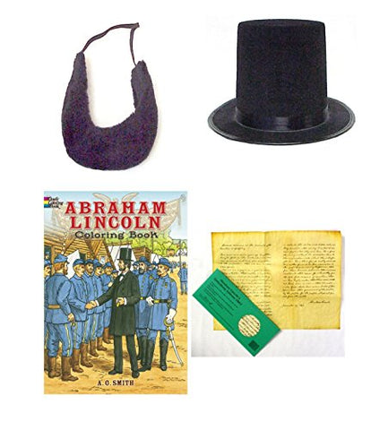 "Abraham ""Abe"" Lincoln Civil War Kids History Costume Roleplay Set"
