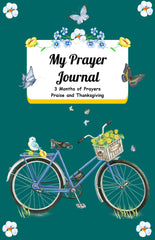 Blue Bicycle Prayer Journal