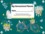Blue Bike Homeschool Planner