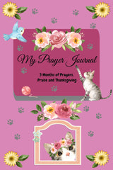 Rosy Cat Pink Prayer Journal