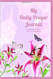 Pink Lily Prayer Journal