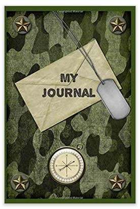 Creative Kids Toys Army Combat Dress Up Military Costume Fun History Kit with Green Army Men Soldiers, Camo Helmet, Binoculars,Compass,and Camo Blank Journal Diary