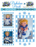 "Little Pammy 16"" Cloth Rag Doll Pattern-  Beginner PDF Sewing Pattern"