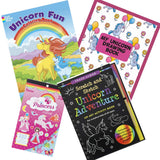 Creative Kids Toys Unicorn Adventure Scratch and Sketch Book
