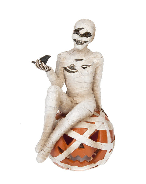 Mummy on Pumpkin LED