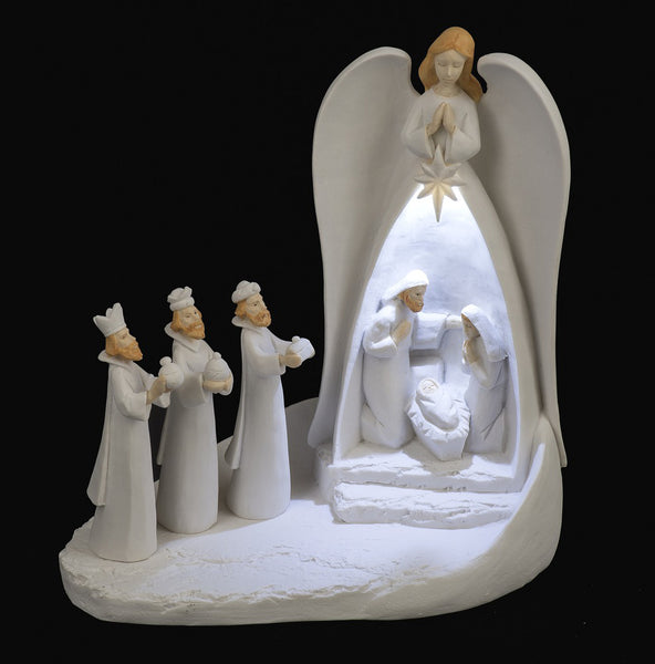 Nativity Angel Scene (LED)