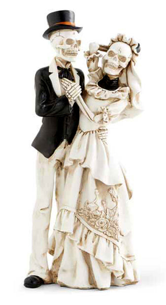 Skeleton Bride and Groom Couple