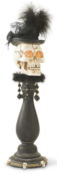 Skull Bust on Pedestal (LED)