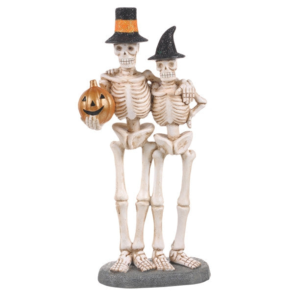 Skeleton Couple Figurine