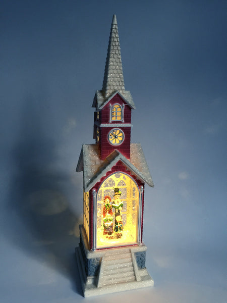 Church Snow Globe (LED)