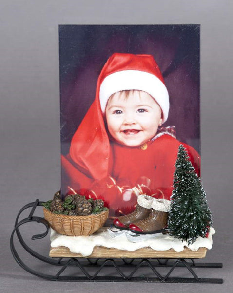 "Sled w/4""x6"" Photo Frame"