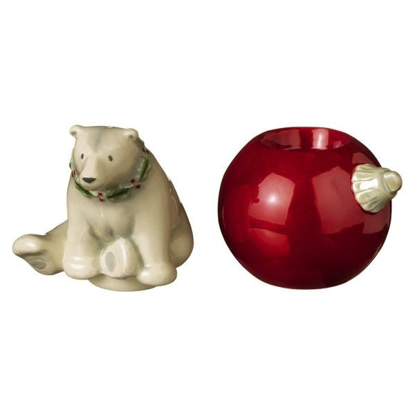 Polar Bear Stackable Salt and Pepper