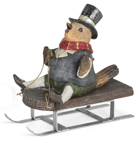 Bird on Sled (Boy)