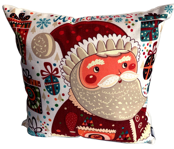 Santa Merry Christmas Pillow