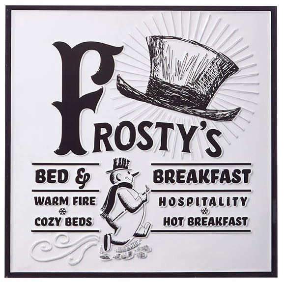 Frosty's Bed & Breakfast Sign