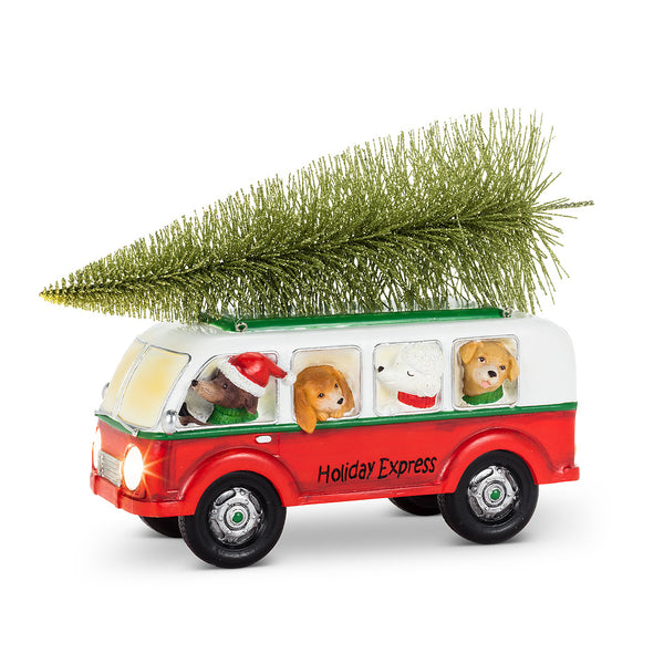 Holiday Express Dog Bus (LED)