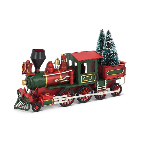 Christmas Steam Locomotive