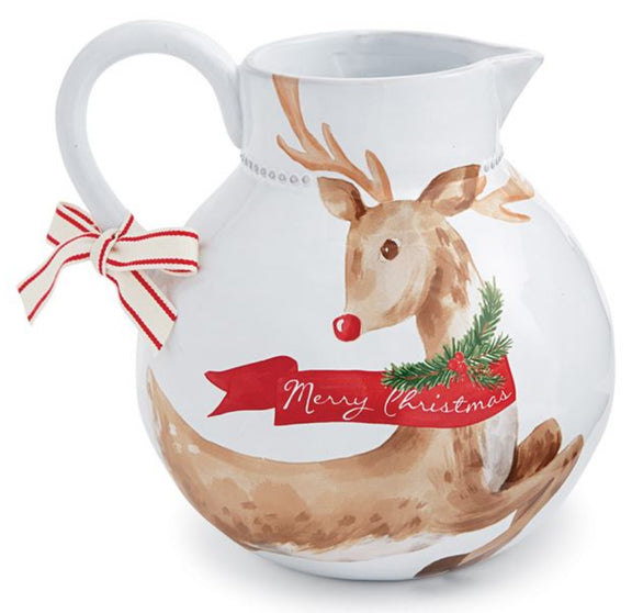 Reindeer Pitcher
