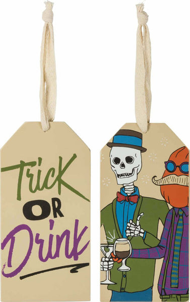 Bottle Tag • Trick or Drink
