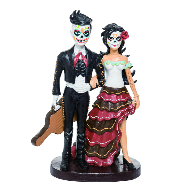 Day of the Dead Mariachi Couple