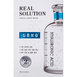 Missha Real Solution Tencel Sheet Mask Intensive Moisturizing - Missha Portugal