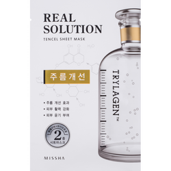 Missha Real Solution Tencel Sheet Mask Wrinkle Caring - Missha Portugal