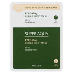 Missha Super Aqua Pore Kling Bubble Sheet Mask - Missha Portugal