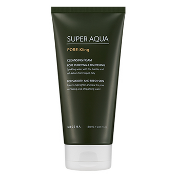 Missha Super Aqua Pore Kling Cleansing Foam - Missha Portugal