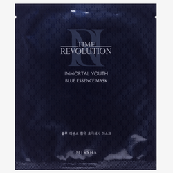 Missha Time Revolution Immortal Youth Blue Essence Mask - Missha Portugal