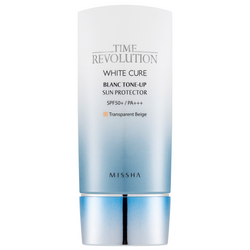 Missha Time Revolution White Cure Blanc Tone Up Sun Protector - Missha Portugal