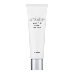 Missha Time Revolution White Cure Whipping Foam Cleanser - Missha Portugal